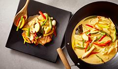 Łosoś curry - Grillujemy rybę