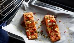 Filet z łososia z kremowym coulis - serwujemy