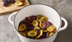 Dżem z włoskich śliwek - przygotowujemy śliwki