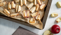 Konfitura z pieczonych jabłek z chrzanem - przygotowujemy jabłka