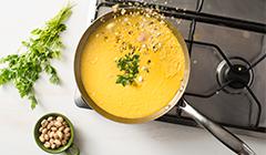 Penne z kremowym sosem z dyni - Gotujemy zupę