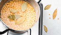 Grochówka wojskowa - groch namaczamy i gotujemy