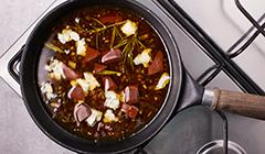 Polędwiczka wieprzowa - Doprawiamy sos