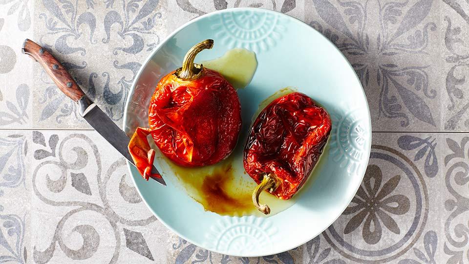 Dorsz - Pieczemy warzywa