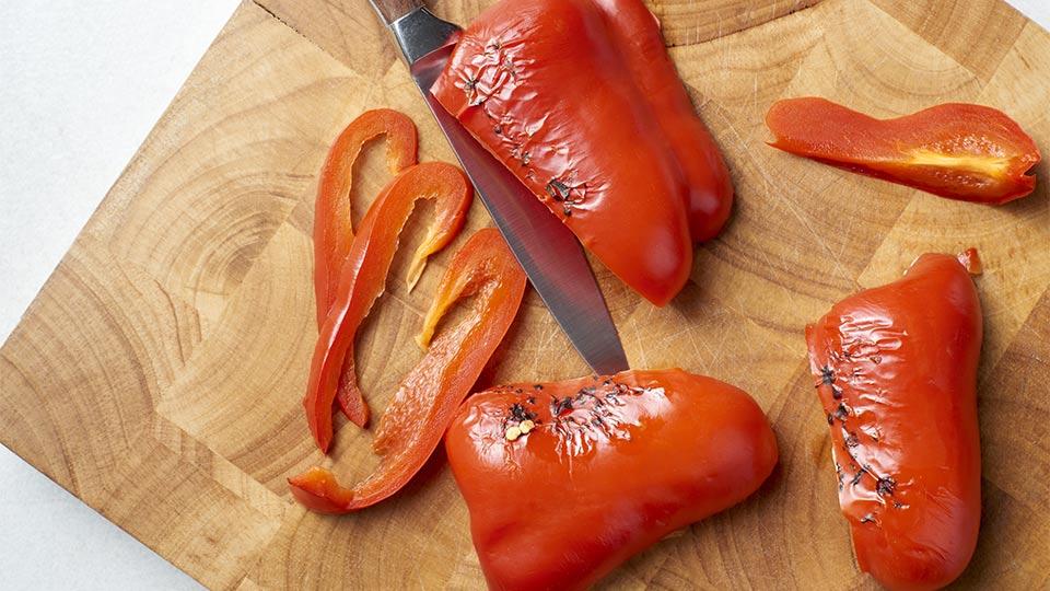 Tagliatelle - pieczemy paprykę