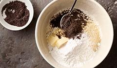 Ciasteczka z makiem i migdałami - ciasto