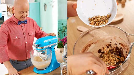 Ciastka czekoladowe - przygotowujemy masę