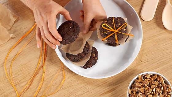 Ciastka czekoladowe - pieczemy