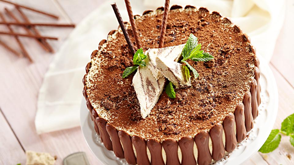 Macedoński tort chałwowy