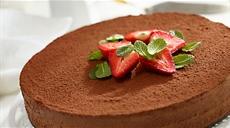 Wytrawne ciasto czekoladowe z koniakiem