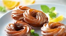 Przysmak z Saragossy  (pomarańczowe wianuszki)