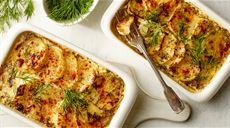 Cassolette z łososiem i ziemniakami