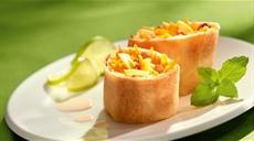 Strudel jabłkowo-marchewkowy