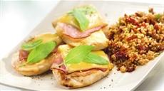 Łatwa saltimbocca  z kurczaka