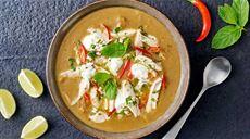 Pikantna zupa z soczewicą i królikiem