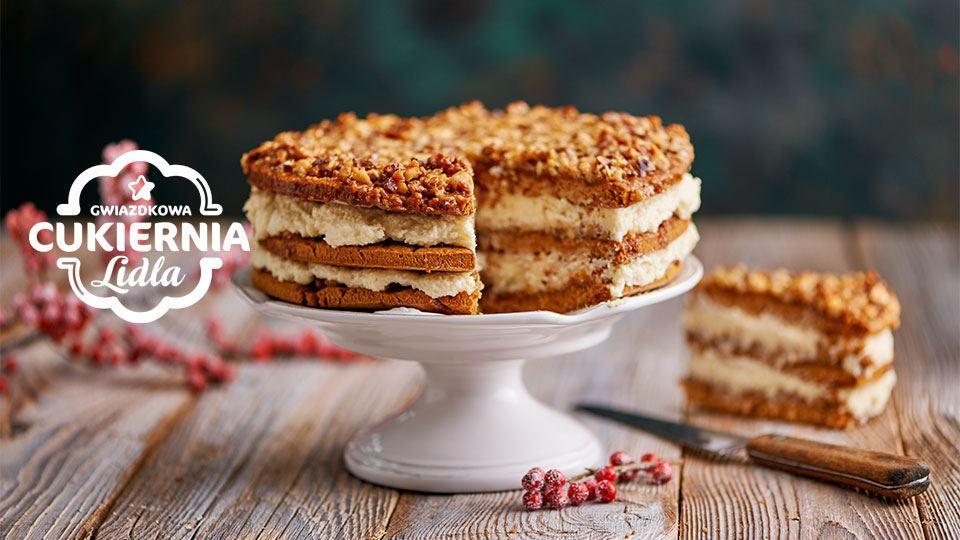 Bożonarodzeniowe ciasto miodowe