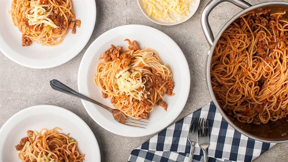 Ekspresowy bolończyk, czyli spaghetti po studencku