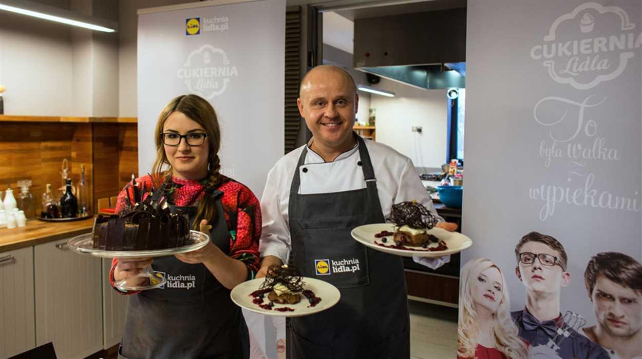 """Pierwsza nagroda w konkursie """"Świąteczne Wypieki"""", czyli czekoladowe warsztaty z Pawłem Małeckim!"""
