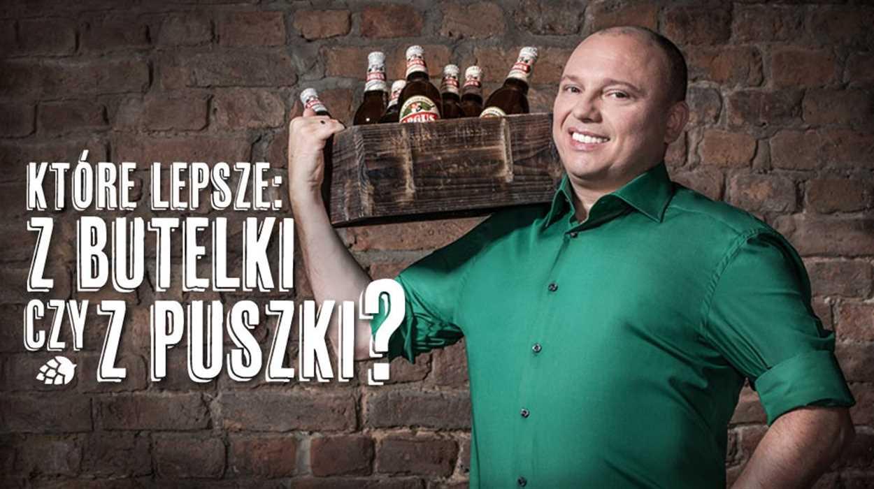 Dlaczego piwo wypijane z butelki zawsze jest lepsze niż z puszki?