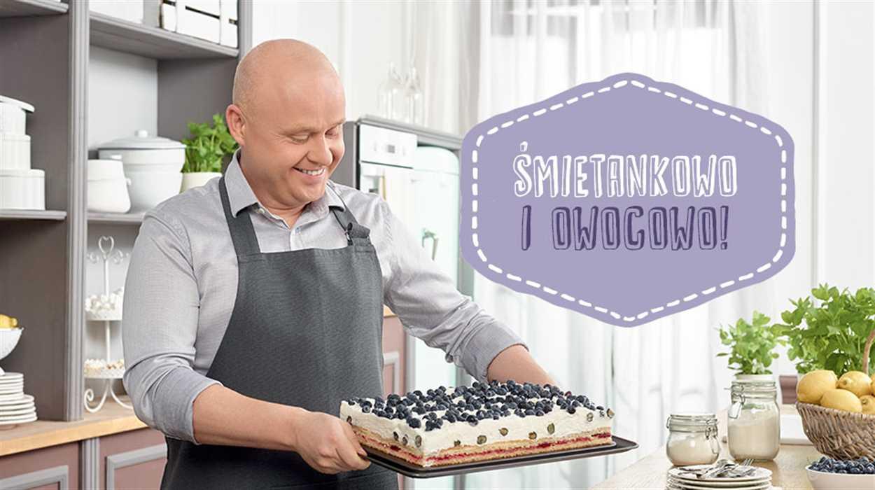 Letnie, borówkowe ciasto Małeckiego!