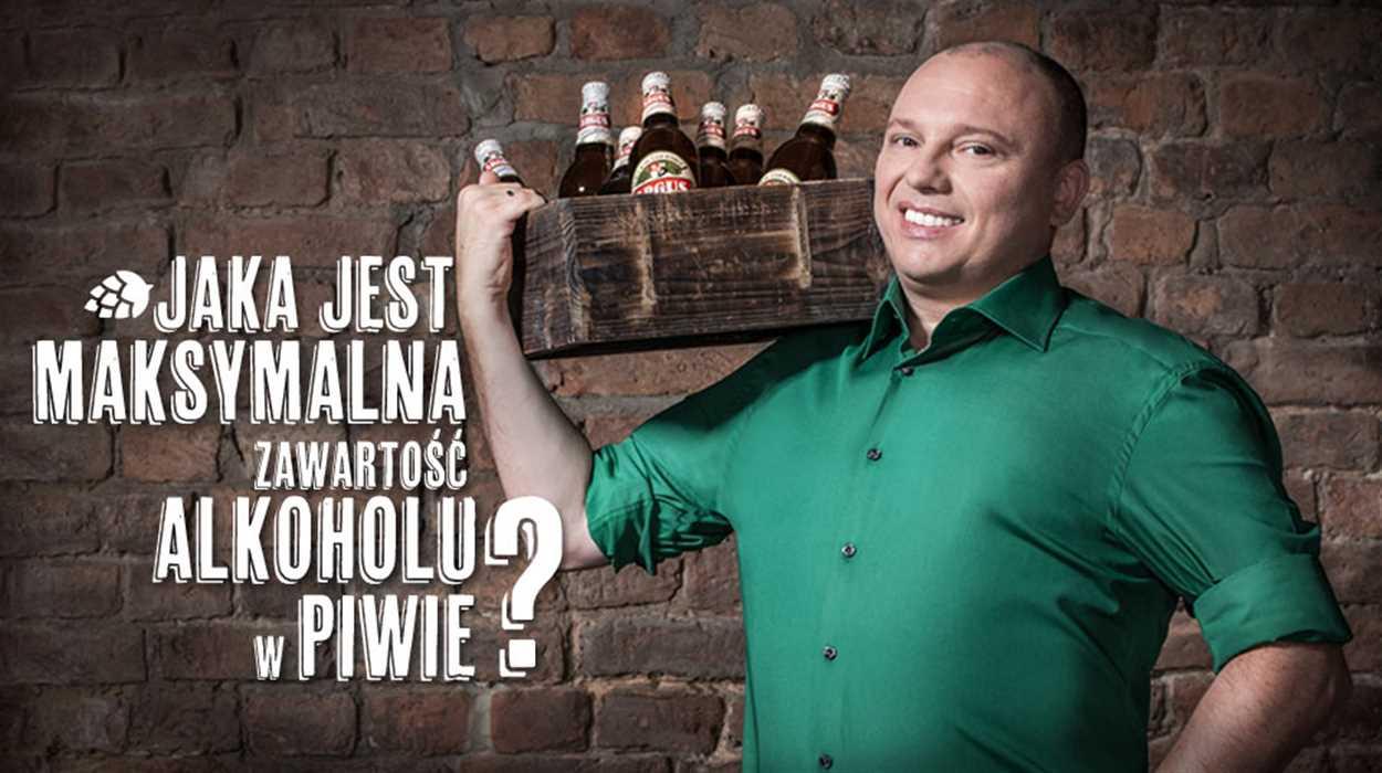 Jaka jest maksymalna zawartość alkoholu w piwie?