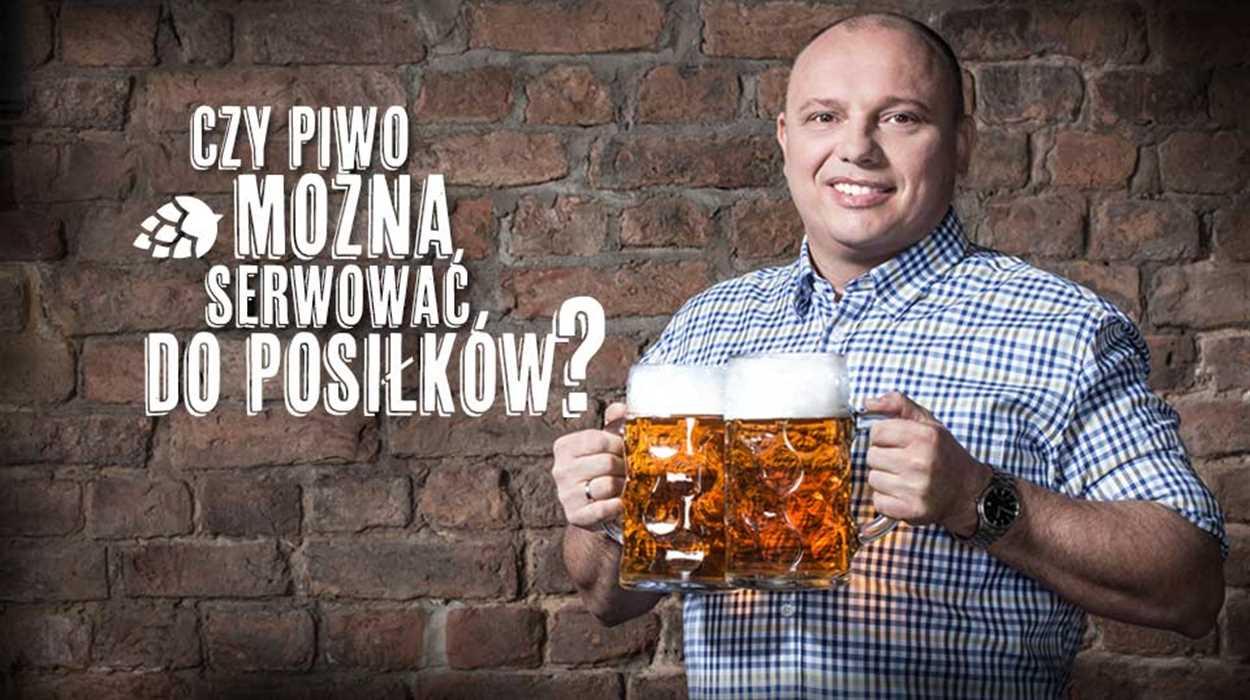 Czy piwo można serwować do posiłków?