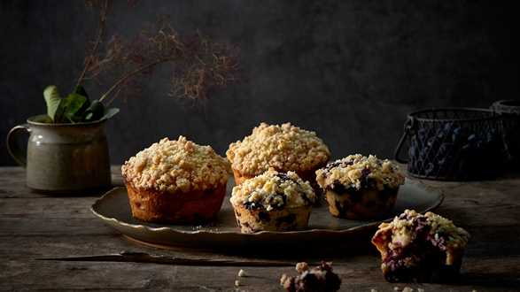Muffiny jaglane na dwa sposoby