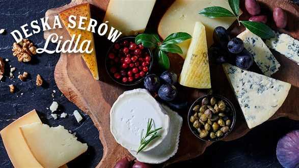 Deska serów Lidla