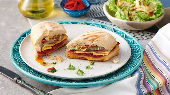 Andaluzyjska kanapka serranito