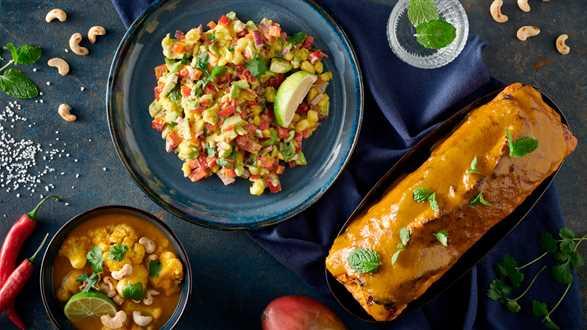 Salsa z mango i awokado