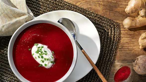 Zupa krem z buraczków