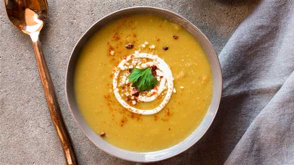 Kremowa grochówka z curry