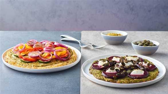 2 sposoby na pizzę - z brokułu i kalafiora