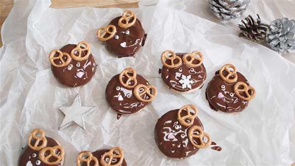 Wegańskie ciasteczka imbirowe