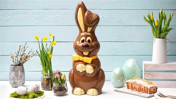 Jak zrobić zająca z czekolady?