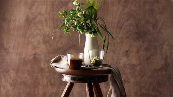 Kawa z borówką, rozmarynem i białą czekoladą