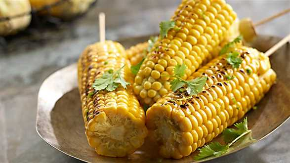 Grillowana kukurydza