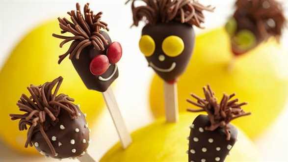 Owocowo-czekoladowe Lizaki-Cudaki