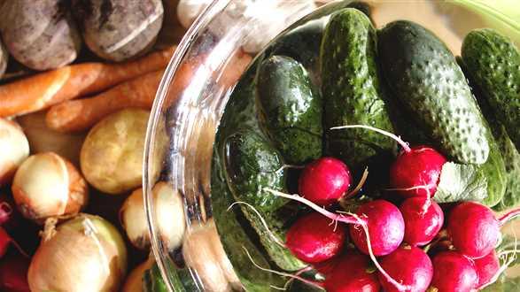 Jak myć warzywa i owoce?