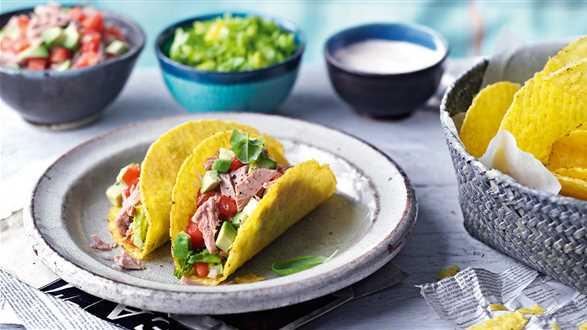 Tacos z tuńczykiem