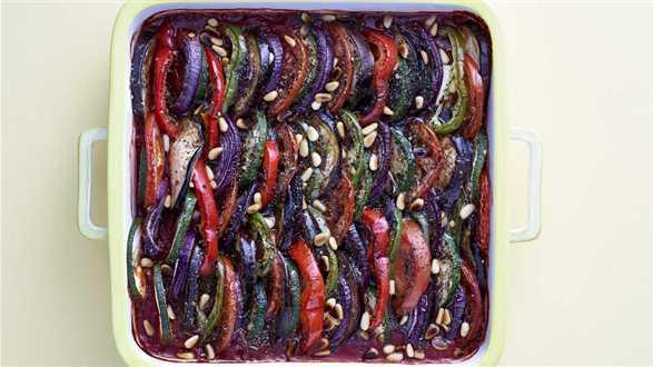 Zapiekanka wegańska ratatouille
