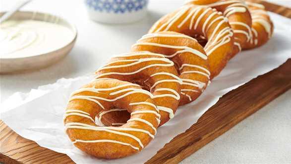 Donuty dyniowe