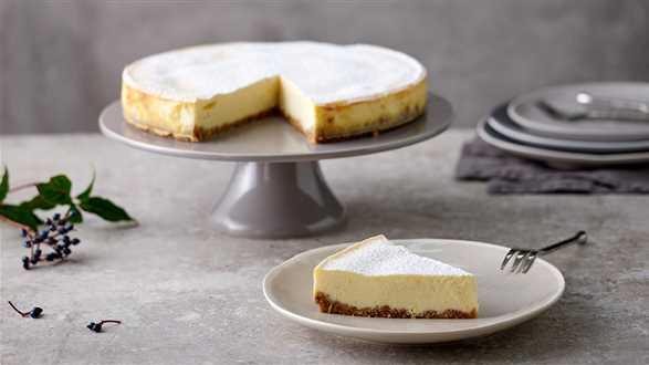 Cheesecake New York z orzechami pekan