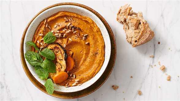 Pasta z bakłażana i marchewki
