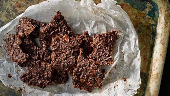 Chrupiące czekoladki