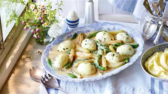 Ragoût z jajek z warzywami