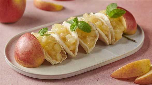 Jabłkowe tacos