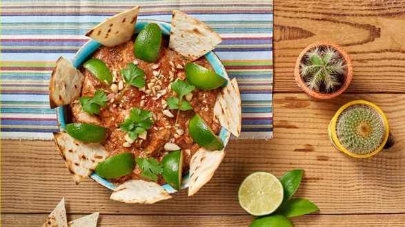Ragoût z kurczaka z przyprawami po meksykańsku