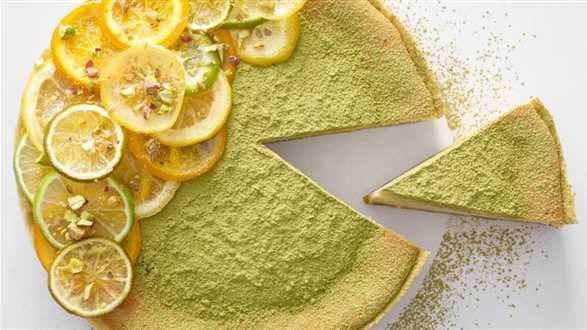 Sernik limonkowy