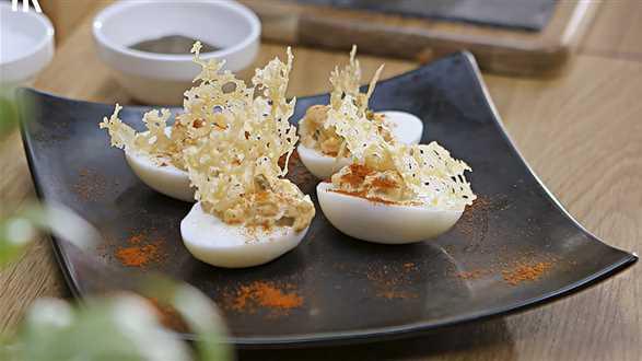 Jak faszerować jajka?